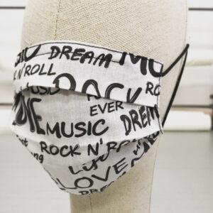 Mascarilla Rock and Roll